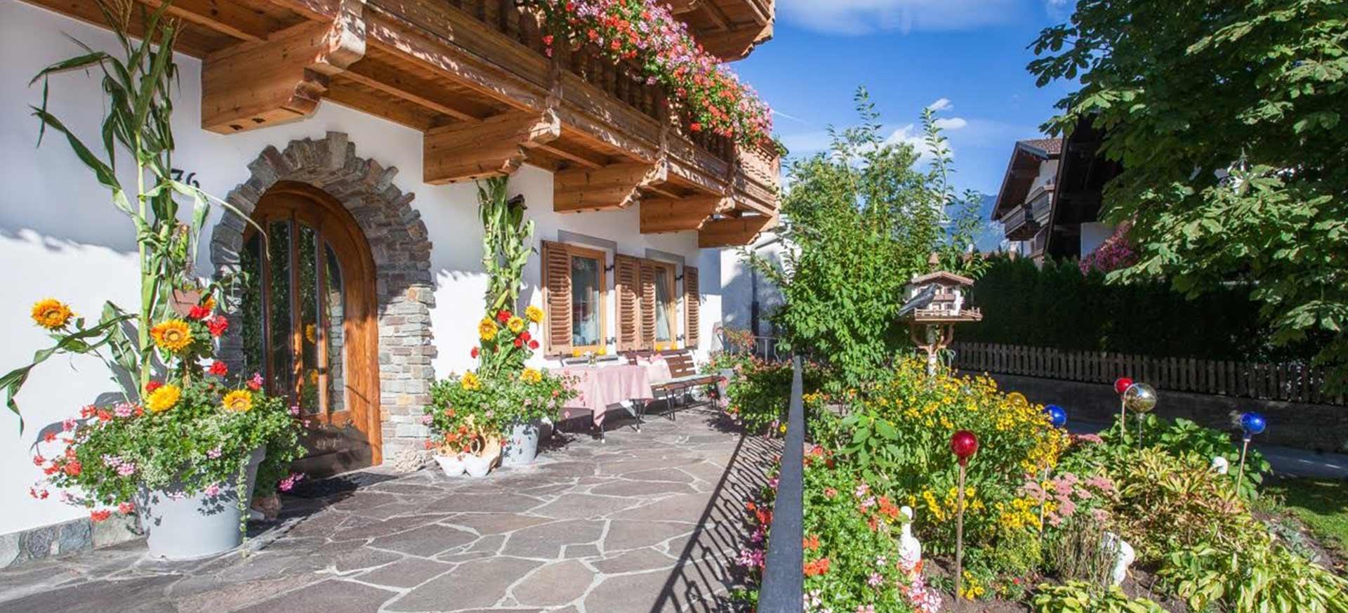 brixnerhof im zillertal: Sommer Haus