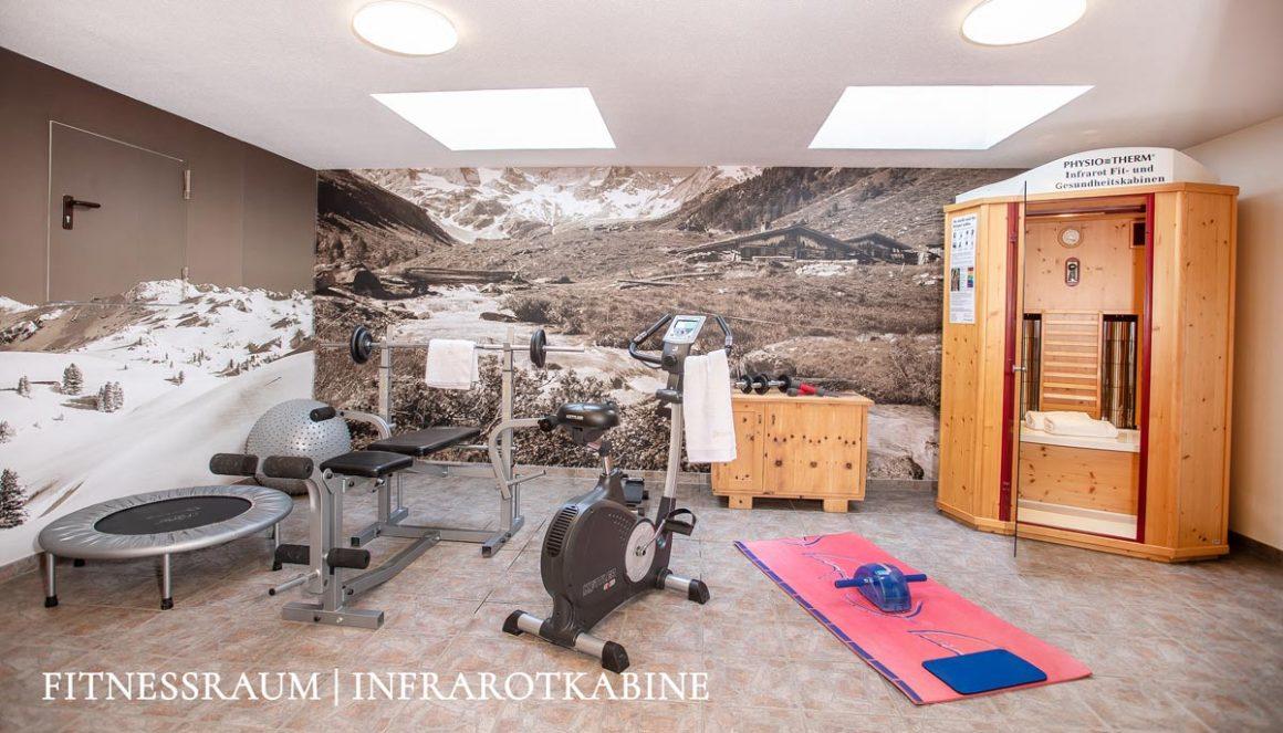 brixnerhof im zillertal, fitnessraum
