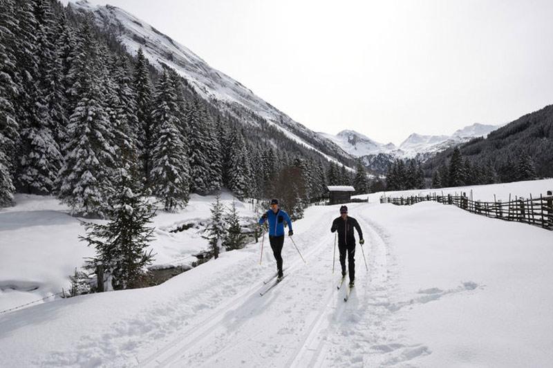 brixnerhof im zillertal, langlaufen, urlaub im zillertal, winter im zillertal, winterurlaub