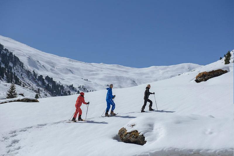 brixnerhof im zillertal, schneeschuhwandern, urlaub im zillertal, winter im zillertal, winterurlaub